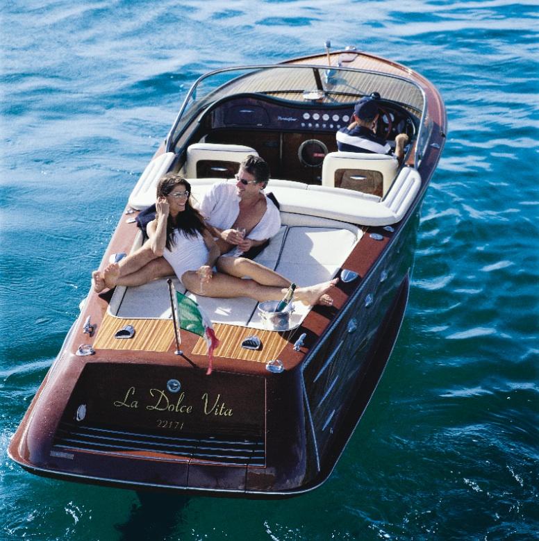 Speed Boat Italian Wooden Speed Boat