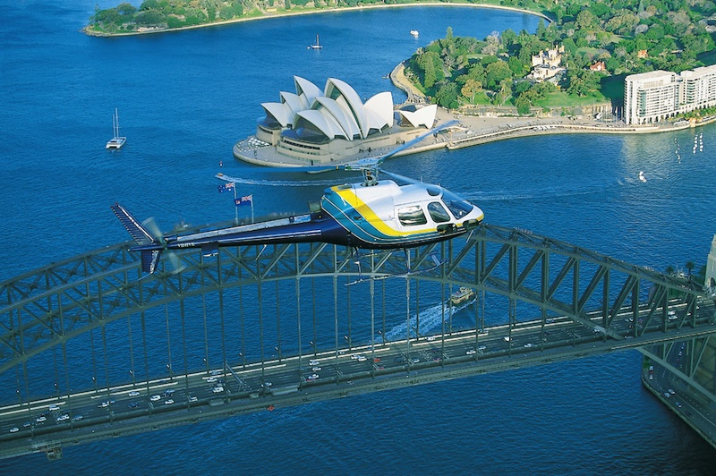 Helicopter Scenic Flight  Sydney Helicopter Flight