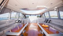 Freedom yacht interior