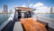 Freedom yacht rear deck