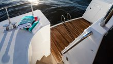 AQA boat rear deck