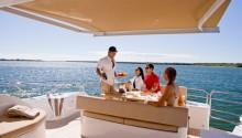 Aquabay boat Sydney rear deck