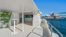 Coast boat top deck