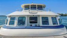 Coast boat front deck seating