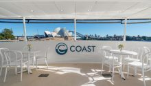 Coast boat sydney harbour main deck