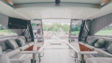 Freedom boat interior
