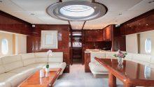 Freedom boat lower deck