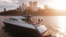 Ghost 1 yacht rear deck