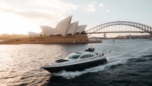 Ghost 1 boat sydney harbour
