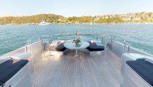 Ghost boat rear deck
