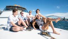 Yarranabbe boat front deck