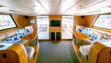 Yarranabbe boat interior