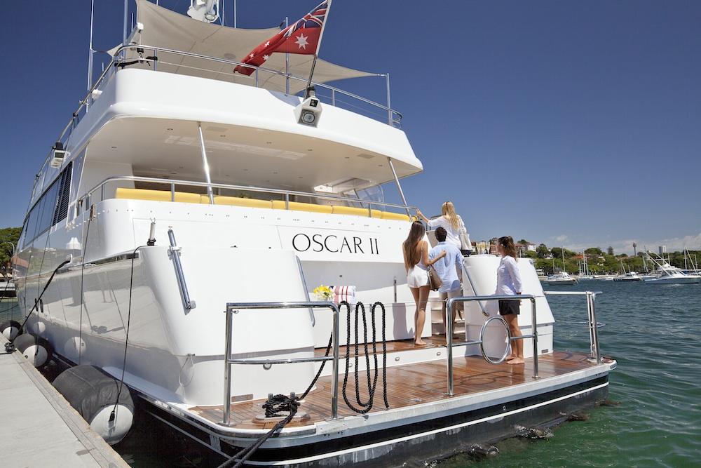 Oscar II boat Sydney