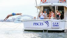 Pisces boat private cruise