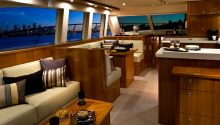 Pisces Boat Sydney interior