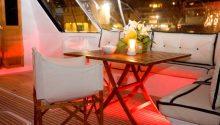 Yarranabbe rear deck table