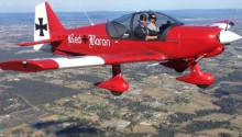 Aerobatics flight Sydney