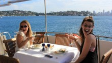 Ambiance boat rear deck
