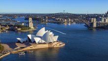Sydney helicopter flight