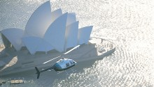Helicopter flight Sydney