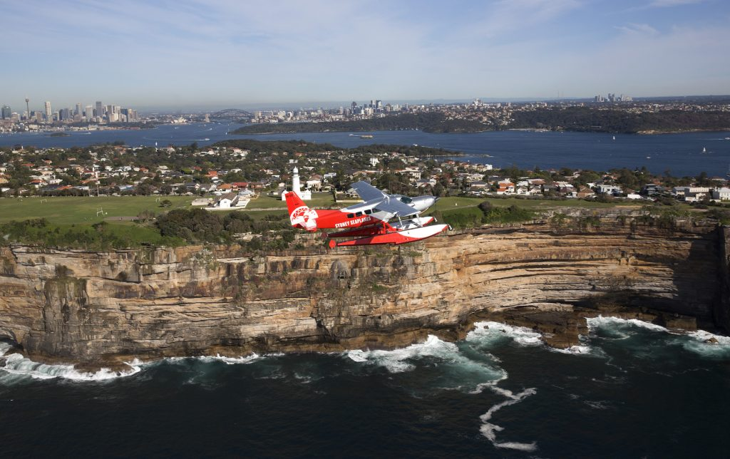 Seaplane flight Sydney