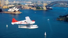 Sydney Seaplane flight
