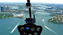 Scenic helicopter flight Sydney