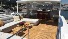 Hiilani boat top deck