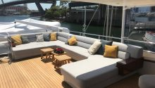 Hiilani boat top deck