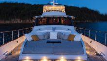 Hiilani yacht front deck Sydney