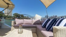 John Oxley lounges top deck