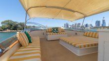 John Oxley boat top deck