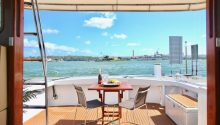 Highlander boat rear deck