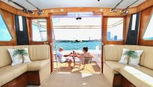 Highlander boat interior