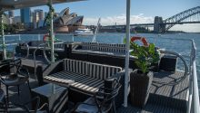 Eclipse boat top deck