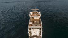 Corroboree Boat Sydney drone