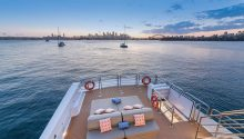 Corroboree boat top deck