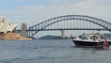 Salute Boat Sydney