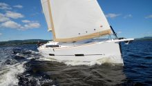 Dufour 412 charter boat