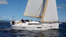 Dufour 412 Sydney cruising