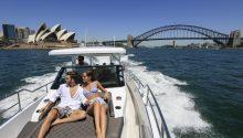 Spectre boat Sydney Harbour