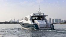 YOT Blue boat