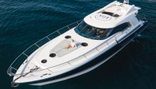 YOT Blue boat charter