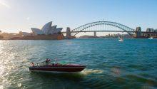 Bel boat sydney cruising