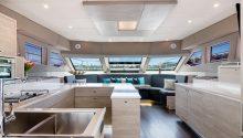 Sydney Seabird boat interior