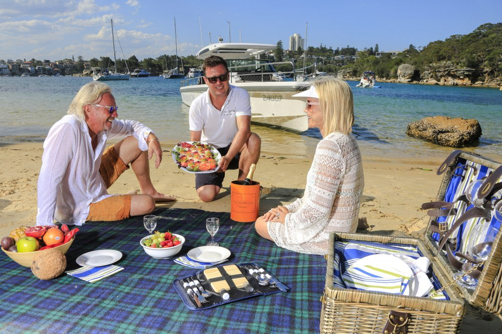 Spectre beach picnic