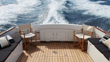 Aranui boat sydney rear deck
