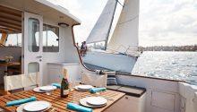 Aranui boat rear deck