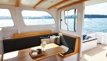 Aranui boat seating