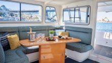 Enigma X boat interior